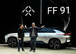 second car ever made faraday future said to be in shambles as cash runs low executives