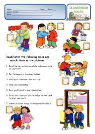 printable instructions classroom classroom rules worksheet free worksheet printables