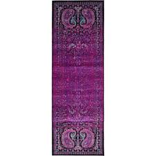 Lilac Runner Rug Unique Loom Istanbul Lilac 2 Ft X 6 Ft Runner Rug 3134957 The