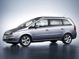 opel zafira 2008 характеристики автомобиля минивэн opel zafira 2005 2008г выпуска