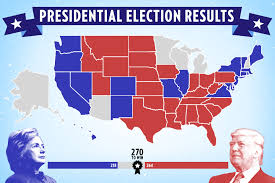 Bill Clinton Electoral Map Donald Trump U0027s Family Tense On Election Day 2016 People Com