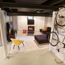image result for unfinished basement ideas making an unfinished
