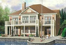 house plans with walkout basement vacation home plans with walkout basement innovation lake house