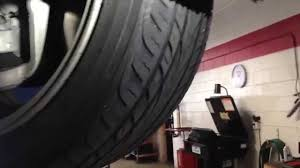 lexus is250 front tires tire wear problems tire wear and solution youtube
