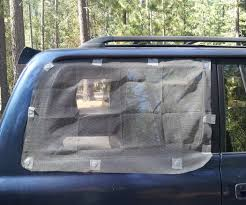 magnetic window screens for car camping 4 steps with pictures
