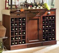 Buffet Bar Cabinet Modular Bar Buffet With 2 Wine Grid Bases 1 Cabinet Base