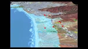 Ensenada Mexico Map by Tsunami En Ensenada Youtube