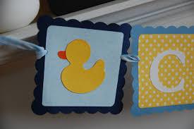 duck banner duck name banner rubber duck birthday rubber