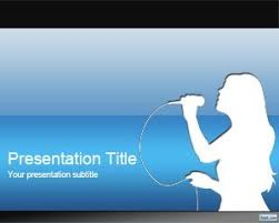 templates powerpoint free download music free karaoke powerpoint template is a free karaoke template for