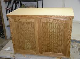 kitchen island oak handmade oak and oak beadboard kitchen island by new refurbish