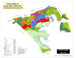 Zoning Map Planning Commission Lower Allen Township Pa U2013 A Township Of The