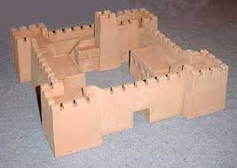 hudson u0026 allen studio 25mm scale model desert fortress