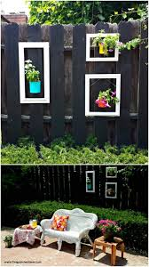 Backyard Fence Decorating Ideas Diy Outdoor Projects 18 Lovely Fence Decorating Ideas Style