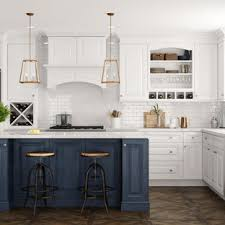 houzz blue kitchen cabinets 75 beautiful laminate floor kitchen with blue cabinets