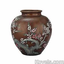 Nippon Vase Price Guide Antique Moriage Pottery U0026 Porcelain Price Guide Antiques