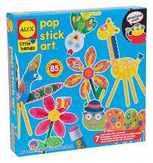 amazon com alex toys little hands pop stick art toys u0026 games