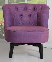 Tufted Swivel Chair Purple Swivel Chairs Open Travel