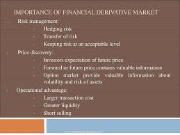 derivative market ppt download