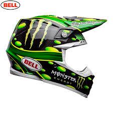monster energy motocross jersey 2018 bell moto 9 carbon flex mcgrath monster helmet black green