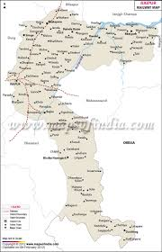 Blank Maharashtra Map by Raipur Railway Map Raipur Rail Network