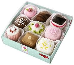 cuisine haba haba petit fours set of 9 amazon co uk toys