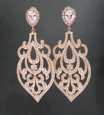 gold bridal earrings chandelier gold wedding earrings gold chandelier earrings bridal