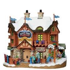 lemax village collection christmas village porcelain lighted house