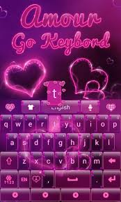 go keyboard apk amour go keyboard theme android apps on play