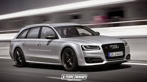 audi rs wagon audi s8 avant plus rendered the ultra powerful wagon that will