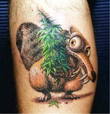 free marijuana tattoos some enjoyable pictures