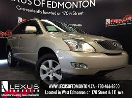 lexus rx 350 2008 used gold 2008 lexus rx 350 4wd review morinville alberta youtube