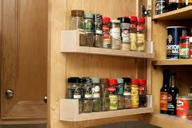 Kitchen Cabinet Door Spice Rack 25 Best Ways To Organize Spices Storage Solution Diy Spice Rack