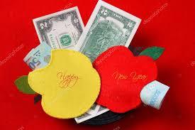 tet envelopes tet envelope lucky money stock photo xuanhuongho