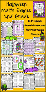 Halloween Printable Games 407 Best Math Board Games Images On Pinterest Math Games Math