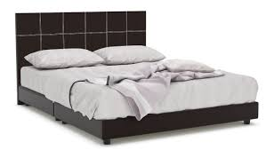 Faux Bed Frames Quadeco Faux Leather Bed Frame Furniture Home Décor
