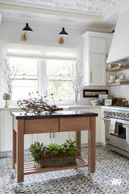 best ideas about tile floor kitchen pinterest make the most kitchen adding rolling cart open shelving