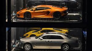 voiture de sport lamborghini a singapour un distributeur automatique de voitures de luxe le