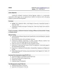 Qtp Resume Dazzling Design Inspiration Mobile Testing Resume 8 Resume For