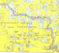 Bwca Map Bwca Crooked Lake Campsites Boundary Waters Trip Planning Forum