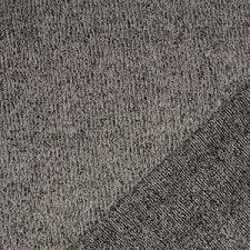 sweater fabric taupe black hacci sweater knit fabric charlee