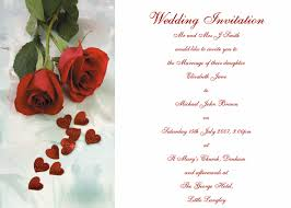 Wedding Invitation Sample Free Wedding Invitation Card Templates Download