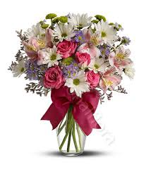 flowers international beautiful bouquet of mixed flowers in pastel tones delivery