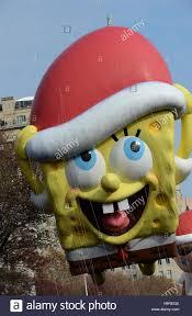 new york ny usa 24th nov 2016 spongebob squarepants balloon