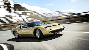 lamborghini sedan on days like these 50 years of the lamborghini miura motoring