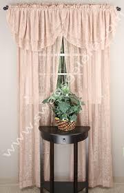 mia lace curtain beige renaissance window treatments