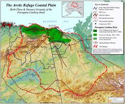 Arctic Circle Map Arctic Refuge Coastal Plain Map Anwr Ak Us U2022 Mappery