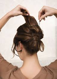 Hochsteckfrisurenen Selber Machen Mittellange Haar Einfach by Einfache Frisuren Für Mittellanges Haar Zum Selber Machen 2
