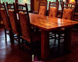 Reclaimed Dining Room Table Rustic Dining Table Etsy