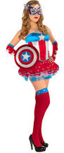 costume for halloween party city create your own women u0027s american dream costume accessories party