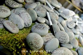signing rocks wedding guest book guestbook guestbook guestbook messages rock and guestbook